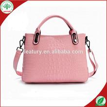 lady genuine leather handbags, Alibaba gold supplier brand design women's handbags