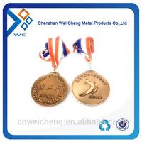 Antique copper religious medals