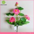 de alta calidad baratos diferentes coloe delicado artificial flotante de flores de loto