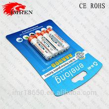 AAA battery,enelong AAA 900mAh 1.2V Rechargeable Ni-MH Battery
