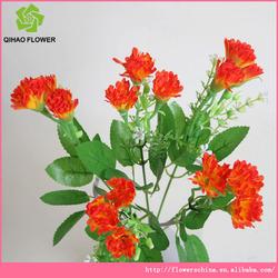 Cheap artificial flower factory,wholesale cut flower carnation plants