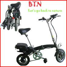 """Hongkong Easy Walker Cheapest commuting Drum brake FRONT MOTOR adult hummer 12"""" 10Ah Li-on folding e bike F1"""