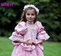 2014 de moda de la muchacha de lujo trajes de vestir / de la muchacha - del partido del desgaste - occidental - vestido de / prince traje de niño