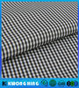 POLYESTER 0.2CM PLAID YARN DYED AND CIRE garment FABRIC
