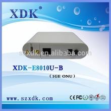 XDK-E8010U-B 1GE ONU ZTE FTTH Modem ONU Gepon