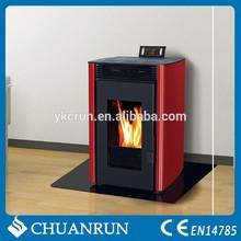 Small Wood Burning Pellet Stove / estufa de pellets/Fireplace