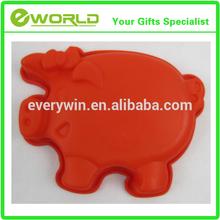 Most popuar custom design pig shape ice cube tray