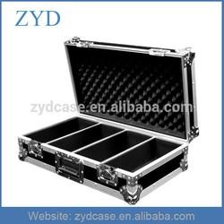 High Grade Aluminum Tool Flight Box , 100 CD Flight Case With Foam ZYD-HZMfc005