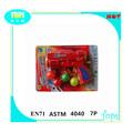 hot venda de brinquedos de plástico bola de ping pong gun com 4 bolas