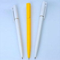 Promotional Twisted Cheap White Plastic Pen