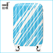 Fashion waterproof suitcase covers travel luggage bags trolley suitcase