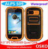 IP68 Phone Alps S09 Quad Core Android 4.2 Dual SIM Card 4.3 Inch Gorilla Glass 1GB RAM 8.0MP Camera Waterproof Smartphone