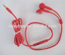 HALLOWEEN! Innovative Products New Rubber Cover Handsfree Zipper Earphone with Metallic Micshell