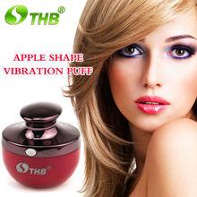 mini vibrition foundation power puff facial equipment wholesale