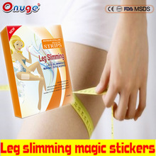 High Quality losing weight Microcrystalline leg slimming magic stickers for home use