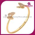 alta qualidade de aço inoxidável cirúrgico pulseira borboleta