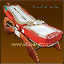 2014 Electric PU leather jade roller massage bed