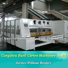 Professional Corrugated Flexo printing slotting die cutting Carton Box Making Machine