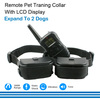 Effective Remote Vibration Shock Dog Trainer With 100 Levels Of Shock And Vibration