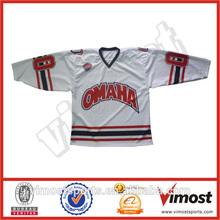 100% polyester ice hockey jersey & custom hockey puck
