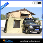 Camping trailer pop up bed tent