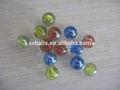 11mm de alta precisión de cristal de colores de cristal esfera bola sólida bola verde