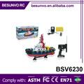 venta caliente de radio control rc modelo de barco de motor de juguete