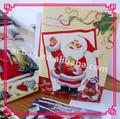 navidad de lujo de cartas en inglés por profesionales del diseño