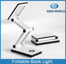 NingBo portable desk lamp white 30 LED night reading lamp book light table lamps battery powered