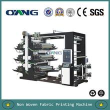 6 color Non Woven Fabric Flexographic Printing Machine