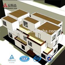 Popular Light Steel Structure Prefabricated Apartment