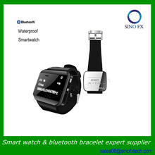 2014 waterproof smart watch bluetooth to take photo supports Android Samsung iphone