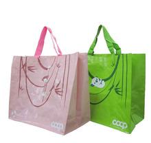 shanghai printable woven material reusable shopping bag tote bag hand bag