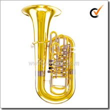 3/4 F Key Yellow brass Piston Lacquer Finish jinbao f tuba (TU600G)