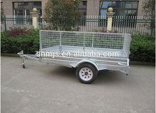 Galvanized 8x5 box trailer for sale