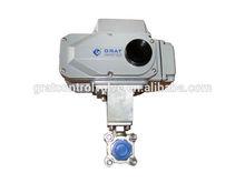 motorized small flow control valve