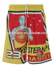 sublimated womens basketball uniform basketball short