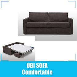 Fabric sleeping sofa bed/ folding sofa bed/ hotel sofa bed