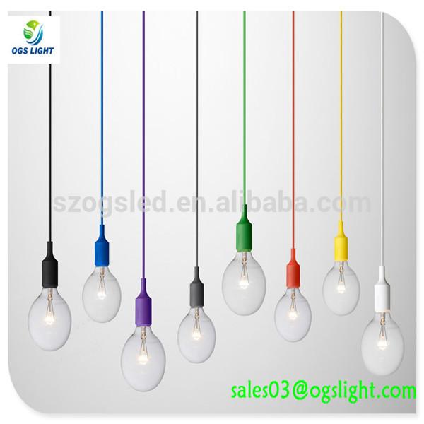 sanayi tarzı sarkıt aydınlatma cam kolye ışık led ampuller ile ev dekorasyon