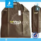 foldable custom made Peva garment bag,dress garment bag,packaging bag cover