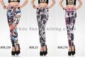 Pantalones vaqueros sexy leggings look/apretado de moda las polainas/imágenes de las mujeres con leggings