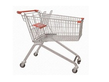 Supermarket Carts With Baby Chair Shopping Trolley