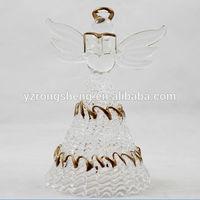 Fancy angel hair christmas decoration