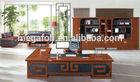 Luxury l-shape managing director office desk meubles modernes(FOH-B7B281)
