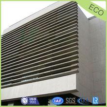 building wall ,roof sunshade, louver aluminium honeycomb panel