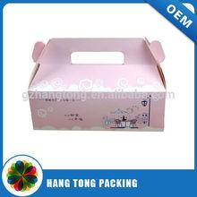Top sale innovative design plastic triangle cake box