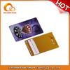 pvc visa card printing/flash card printing oem accepted