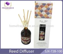 decorative glass bottle reed reed stick diffuser natura rrattan