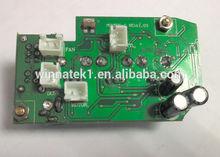 OEM manufacturer of single sided 1oz FR-4 pcb design