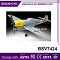 a gran escala de los adultos 720mm aviones rc de juguete avión planeador